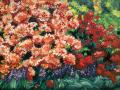 Asia's Treasures (Rhododendrons) 24x36 ©2005 Kathleen Marie Karlsen SM