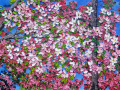 Blossoms of Spring 24x36 ©2008 Kathleen Marie Karlsen SM
