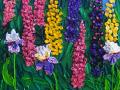 Floral Companions 12x24 ©2005 Kathleen Marie Karlsen SM