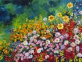 I Dream of Flowers 24x36 ©2008 Kathleen Marie Karlsen SM