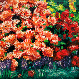 Asia's Treasures (Rhododendrons) Poster by Kathleen Karlsen