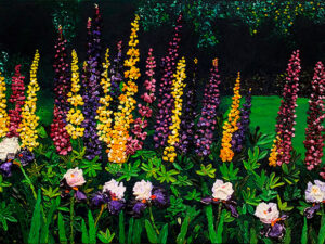 Lupine Majesty Canvas Print