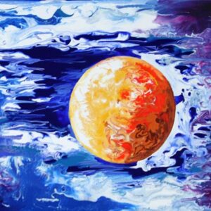 Universe Art Featuring the Moon
