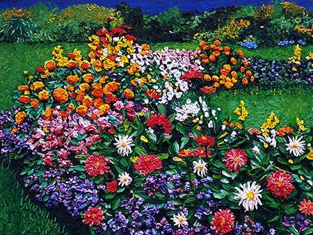 Floral Artwork by Kathleen Karlsen