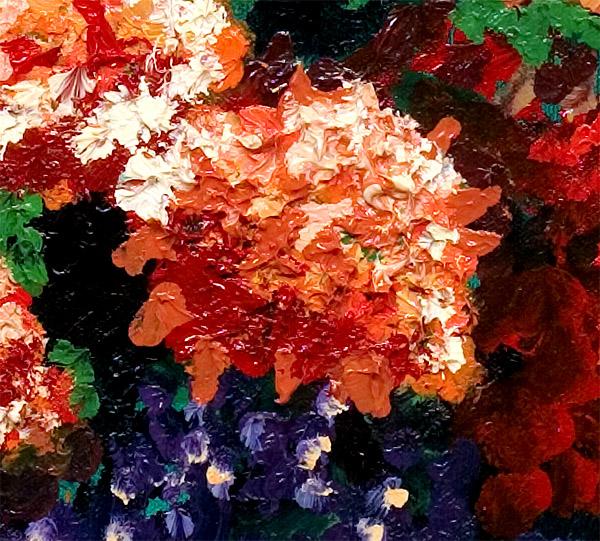 Blossom Detail Asia's Treasures Canvas Print