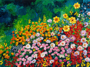 Dream of Flowers Canvas Print