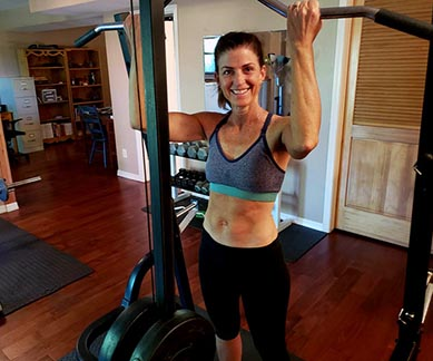 Home Gym Workout with Kathleen Karlsen
