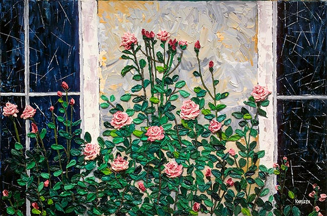 Meaning of a Rose Painting