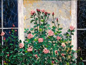 Sunday Roses Canvas Print