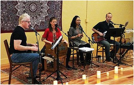 Vocal Medicine Band at Yoga Motion Academy Kirtan