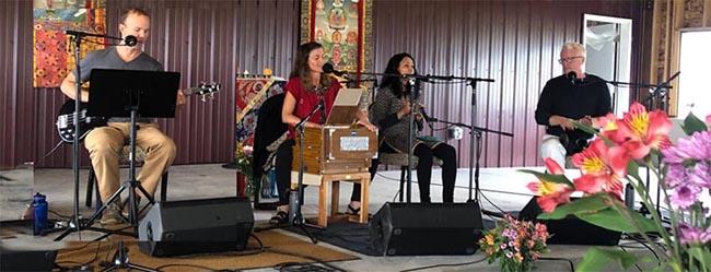 Vocal Medicine Band at Peace Festival
